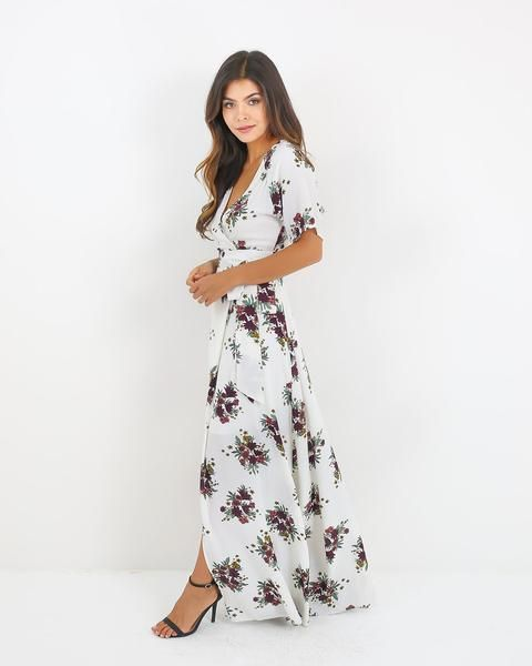 5ec44368eb27 Practical Magic Floral Wrap Maxi Dress | PARTY PERFECT in 2019 ...