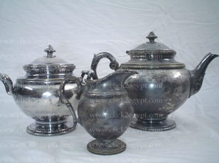 Old/Vintage/Antique Silver Plated Tea Set Hallmark RAREAn old precious inheritance. This set is about 70 years old. & How to spray paint a silver teapot | Clever Ideas ~ Home | Pinterest ...