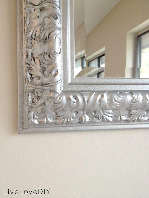 Rust Oleum Anium Silver Spray Paint Frame Black 1st Then 1 Coat Rustoleum