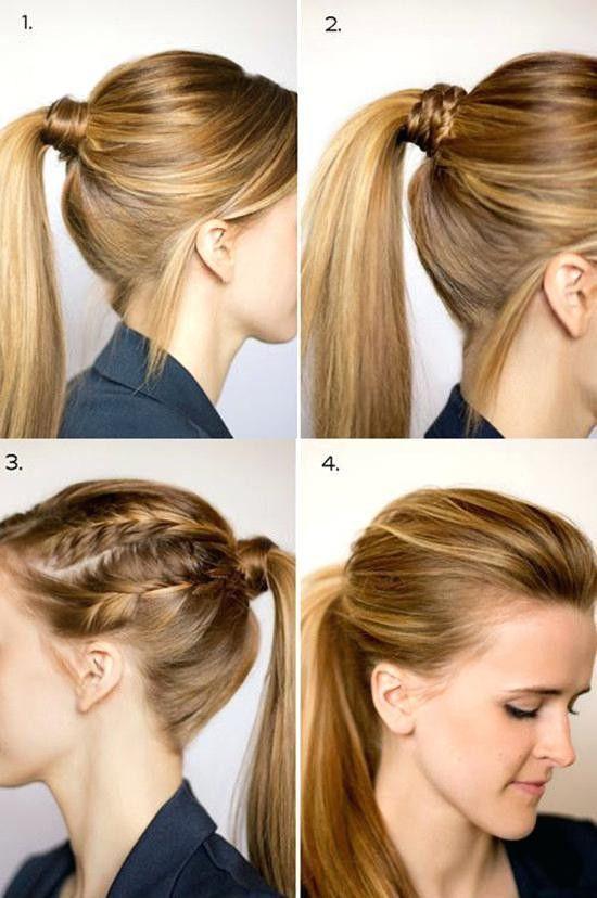 diy ponytail haircut for medium length hair 24 best of diy hairstyles for medium length hair casual