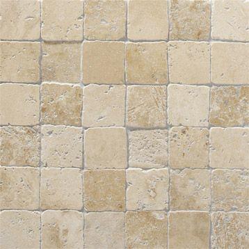 Mosaique Mineral Artens Ivoire 4 8x4 8 Cm Idee Salle De Bain Douche En Pierre Agencement Salle De Bain