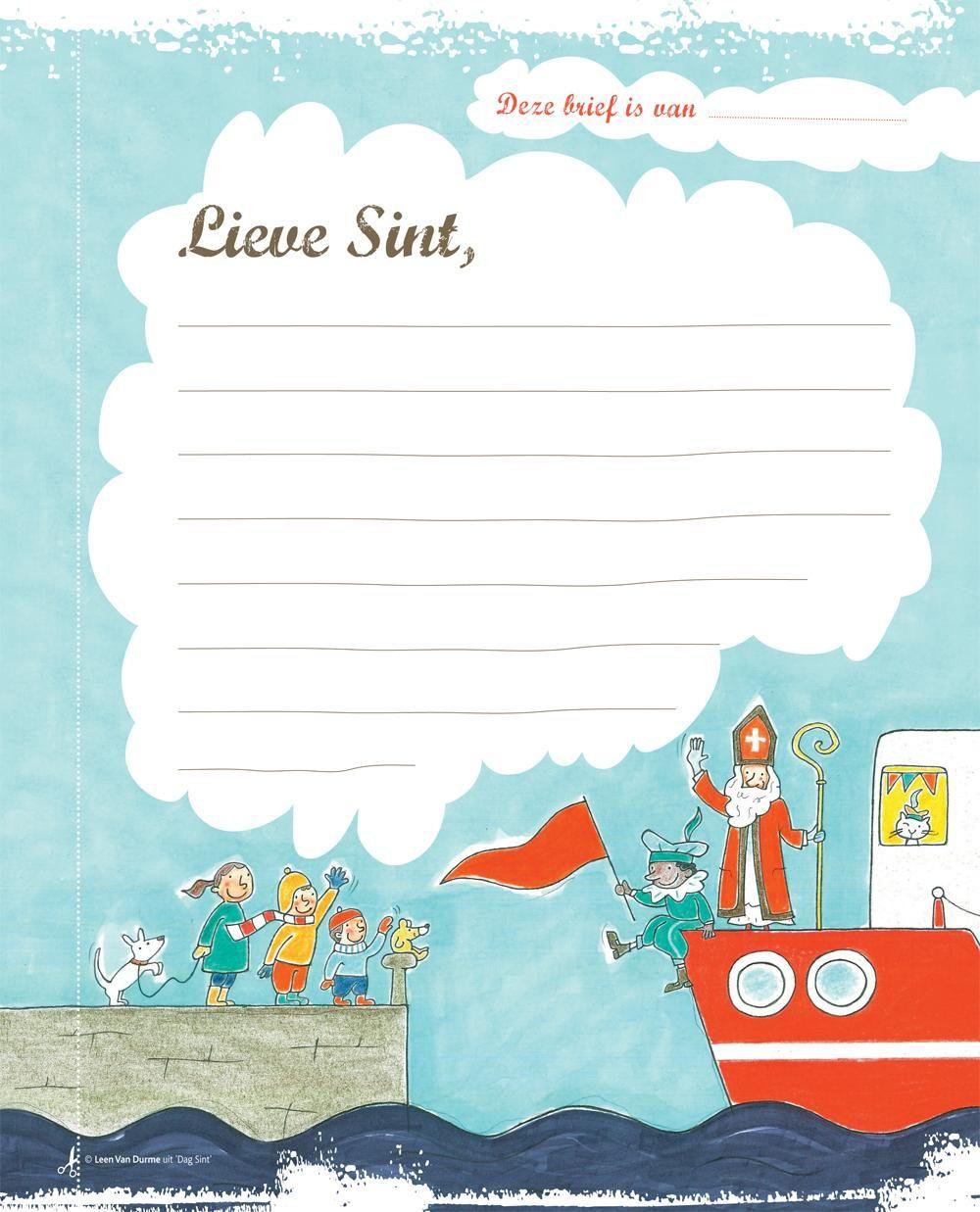 Brief voor de Sint: dit is het adres (en download onze mooie brief) - Libelle