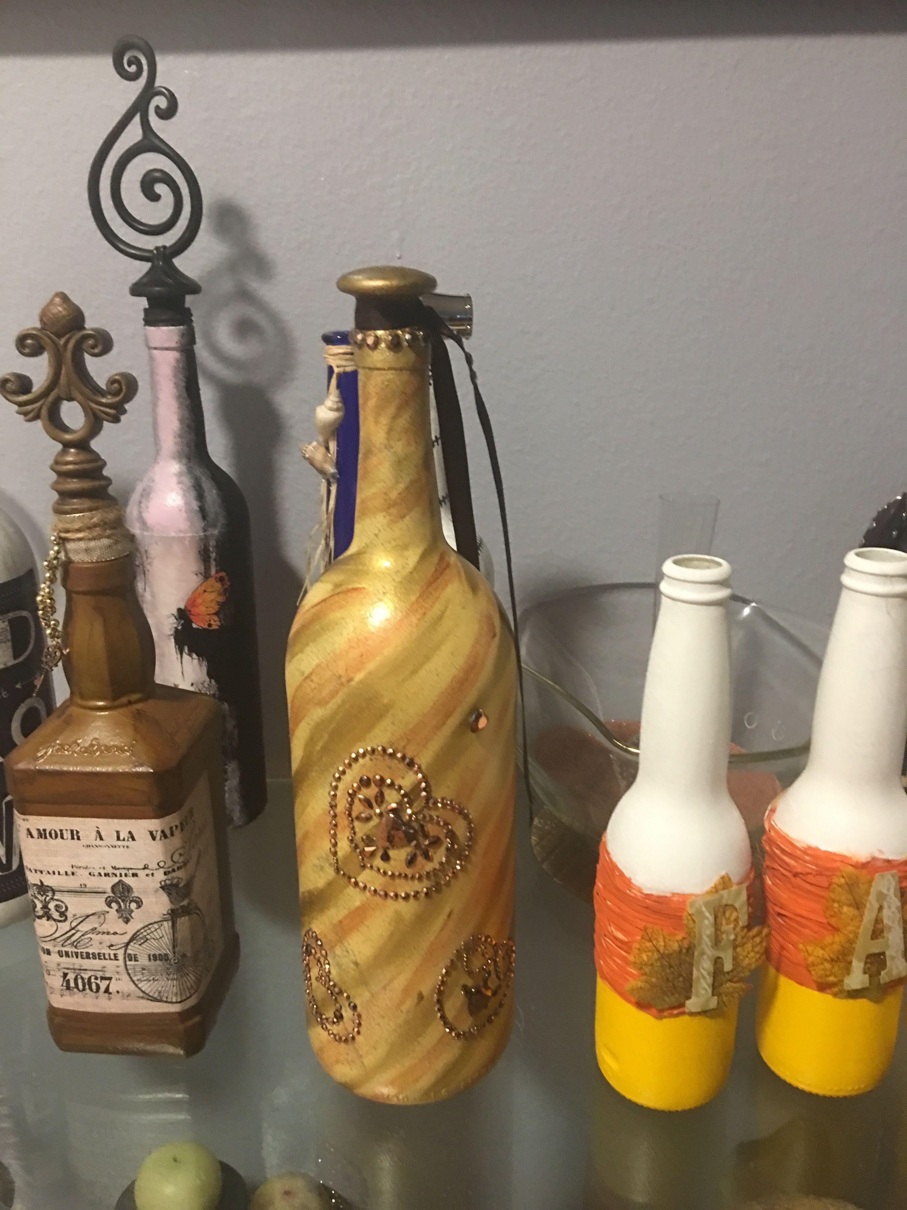 Wine Bottles, Wine Bottle Glasses