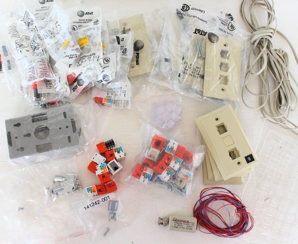 Ethernet Networking Modules 106821630 Cat 5 Wire Cable Covers Wall ...