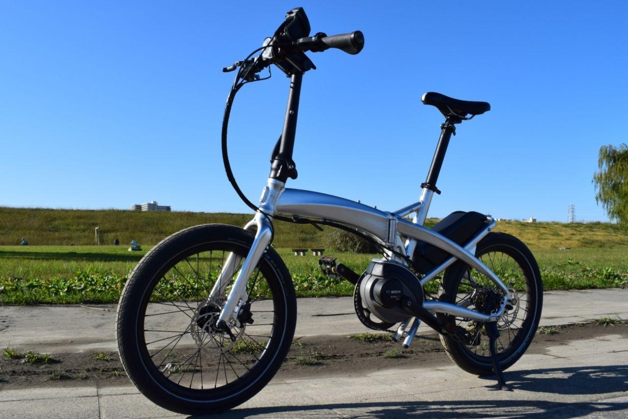 試乗 Tern Vektronを解説 折りたたみとbosch製e Bikeユニットの組み合わせの利点とは E Bike 折り畳み自転車 折りたたみ自転車 フォールディングバイク