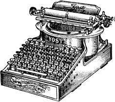The first typewriter was invented by Christopher Sholes in 1866 ...
