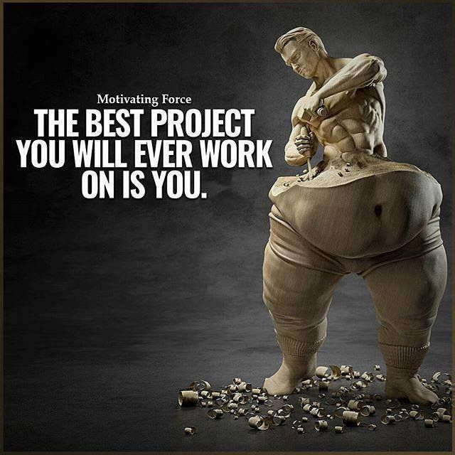 Inspirational Positive Quotes :The best project you will ever work on is YOU….