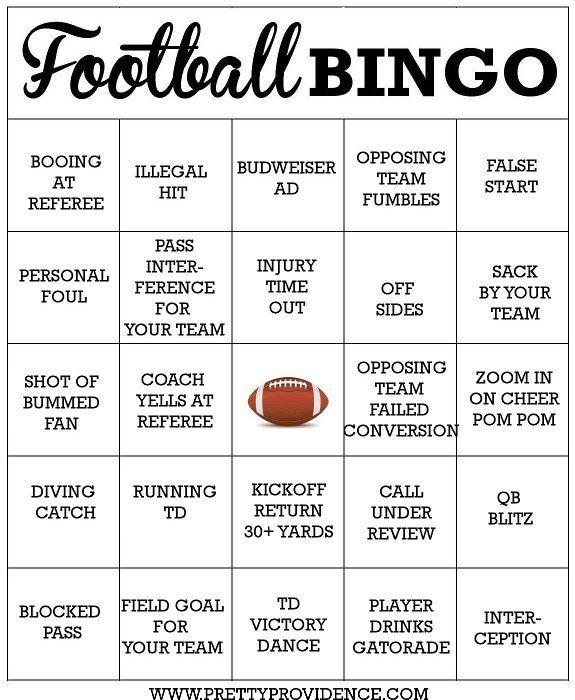 Free Football Bingo Cards Free printable, Free and Seahawks - football score sheet template