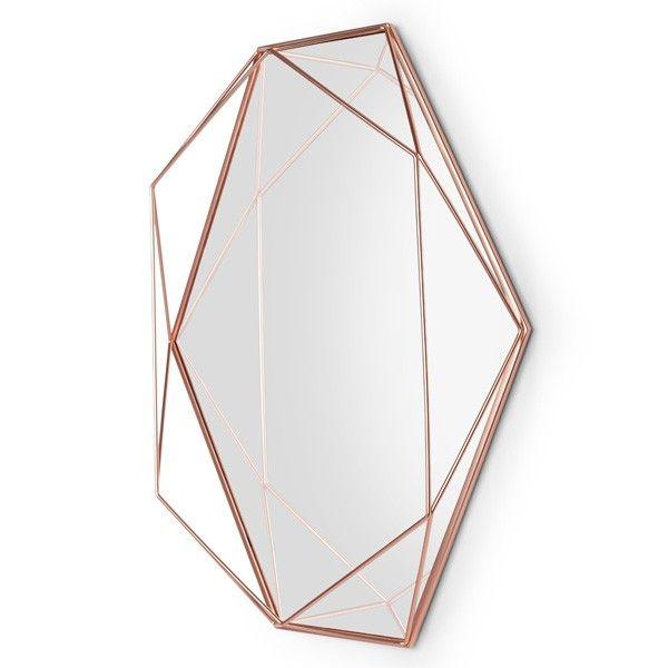 Umbra Prisma Mirror Copper Mirror Copper Mirror Cage