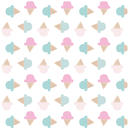 Ice Cream Phone Backgrounds Pattern Print