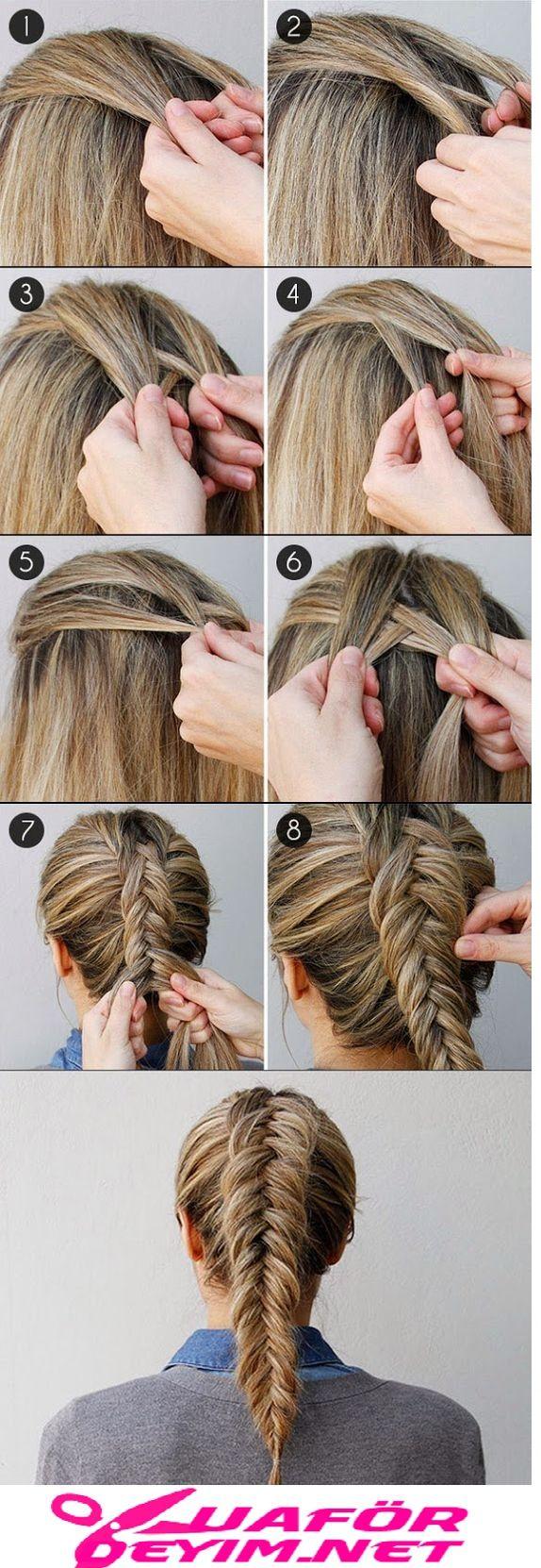 Quick And Easy Braid Hair Tutorial Braided Hairstyles Easy Hair