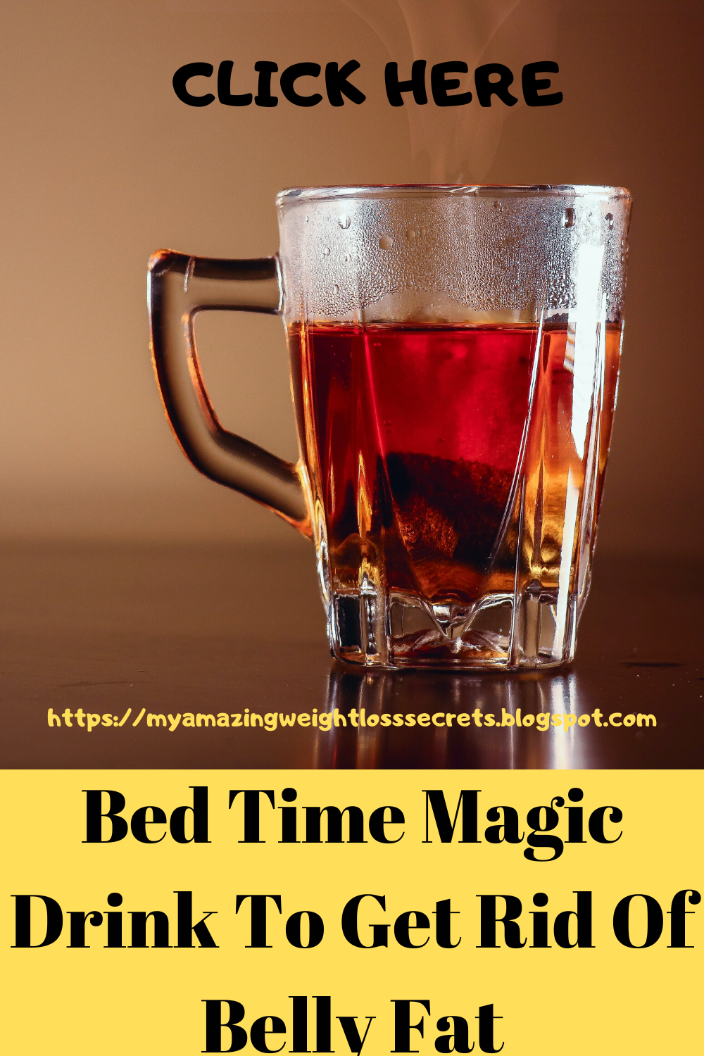 Bed Time Magic Drink To Get Rid Of Belly Fat & Get A Flat Tummy