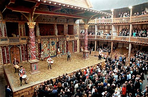 Theater/ Elizabethan Theater term paper 8312