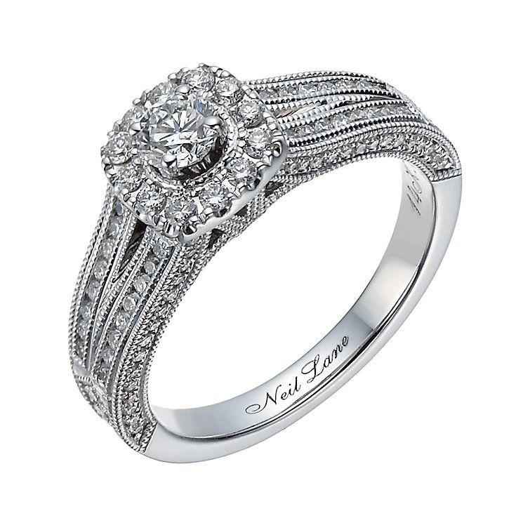 Neil Lane 14ct white gold 0.70ct diamond ring Product