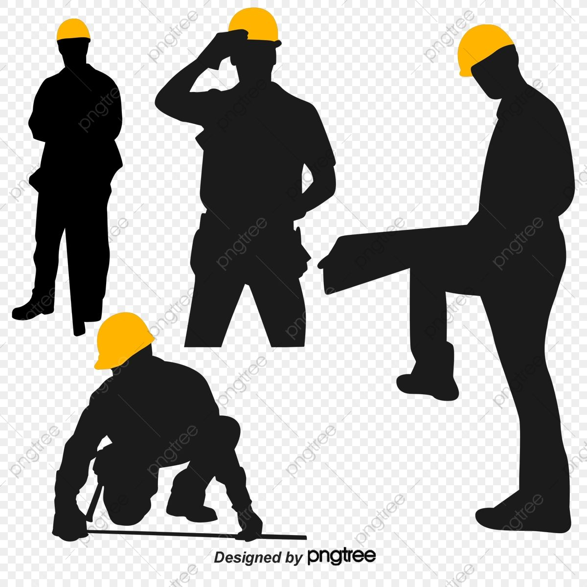 Construction Workers Silhouette Figures Sketch Construction Silhouette Figures Png Transparent Clipart Image And Psd File For Free Download Construction Worker Silhouette Logo Design Free Templates