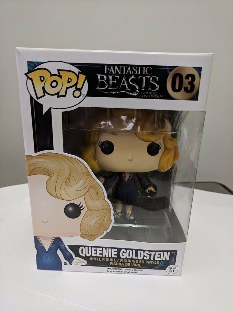 Action- & Spielfiguren Funko Pop Vinyl Fantastic Beasts Queenie Goldstein 03 Action Figure