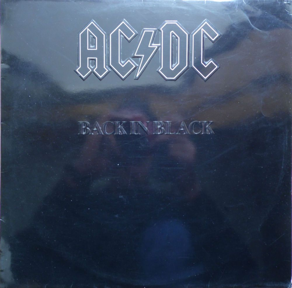 Ac Dc Back In Black 1980 Portugal Issue Rare Vinyl Lp Album 33 Atl50735 Free S Amp H Music Records Ebay