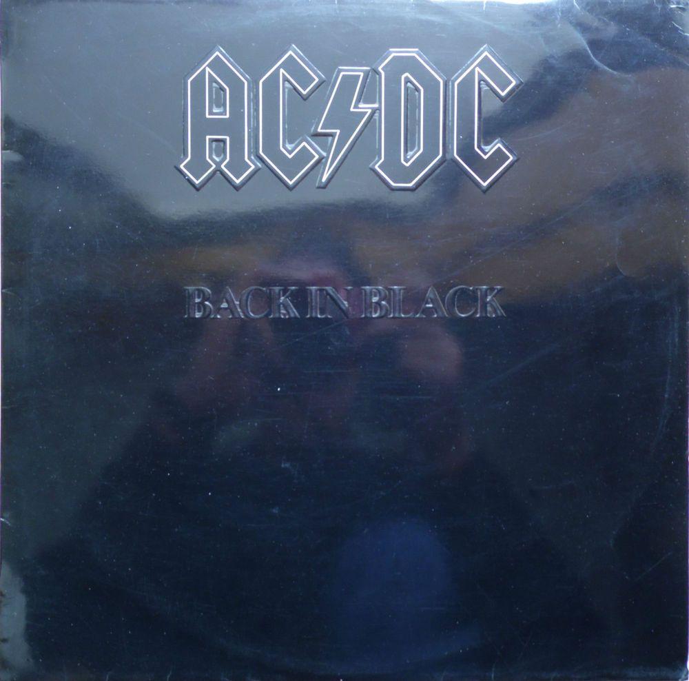 Ac Dc Back In Black 1980 Portugal Issue Rare Vinyl Lp Album 33 Atl50735 Free S Amp H Music Records Ebay