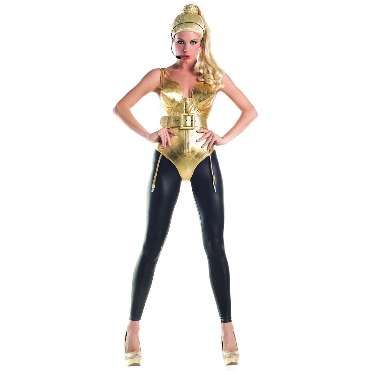 party king madonna cone bra costume from sears - cheapest price