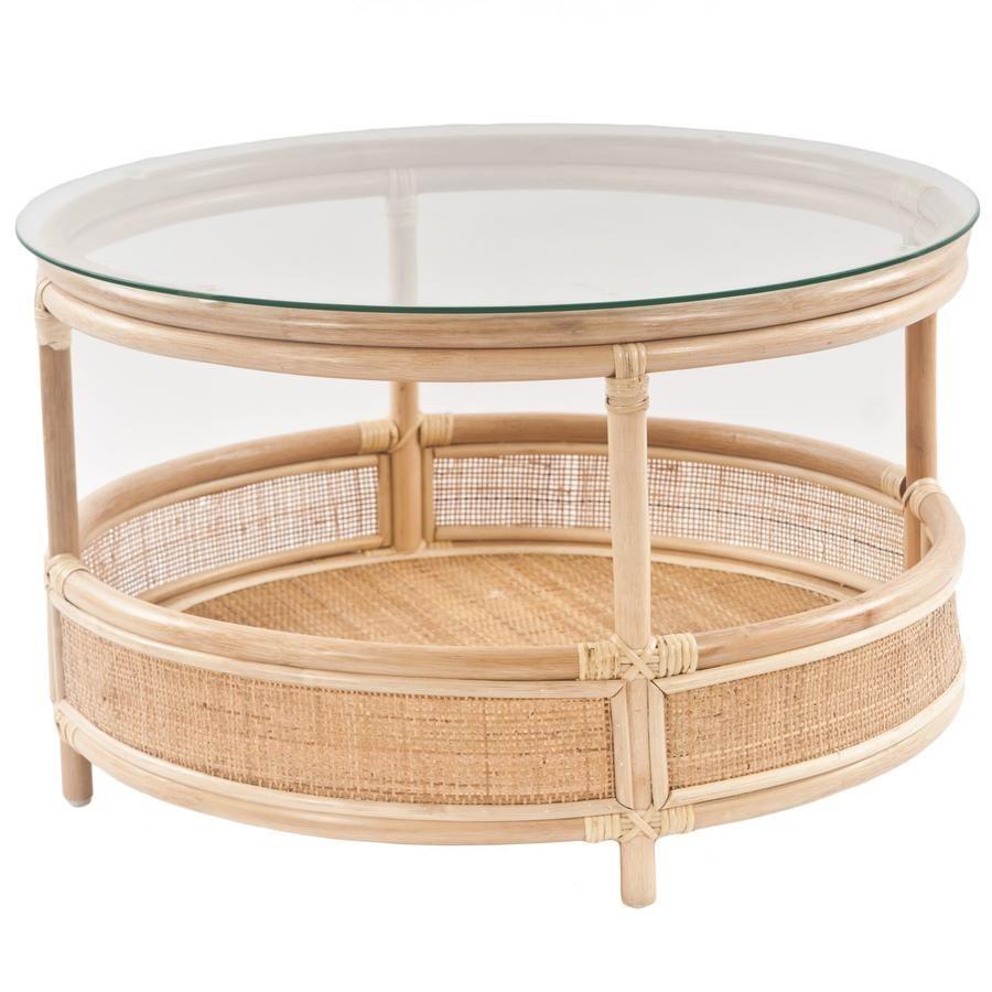 Bermuda Coffee Table In 2020 Coffee Table Stylish Coffee Table Rattan Coffee Table