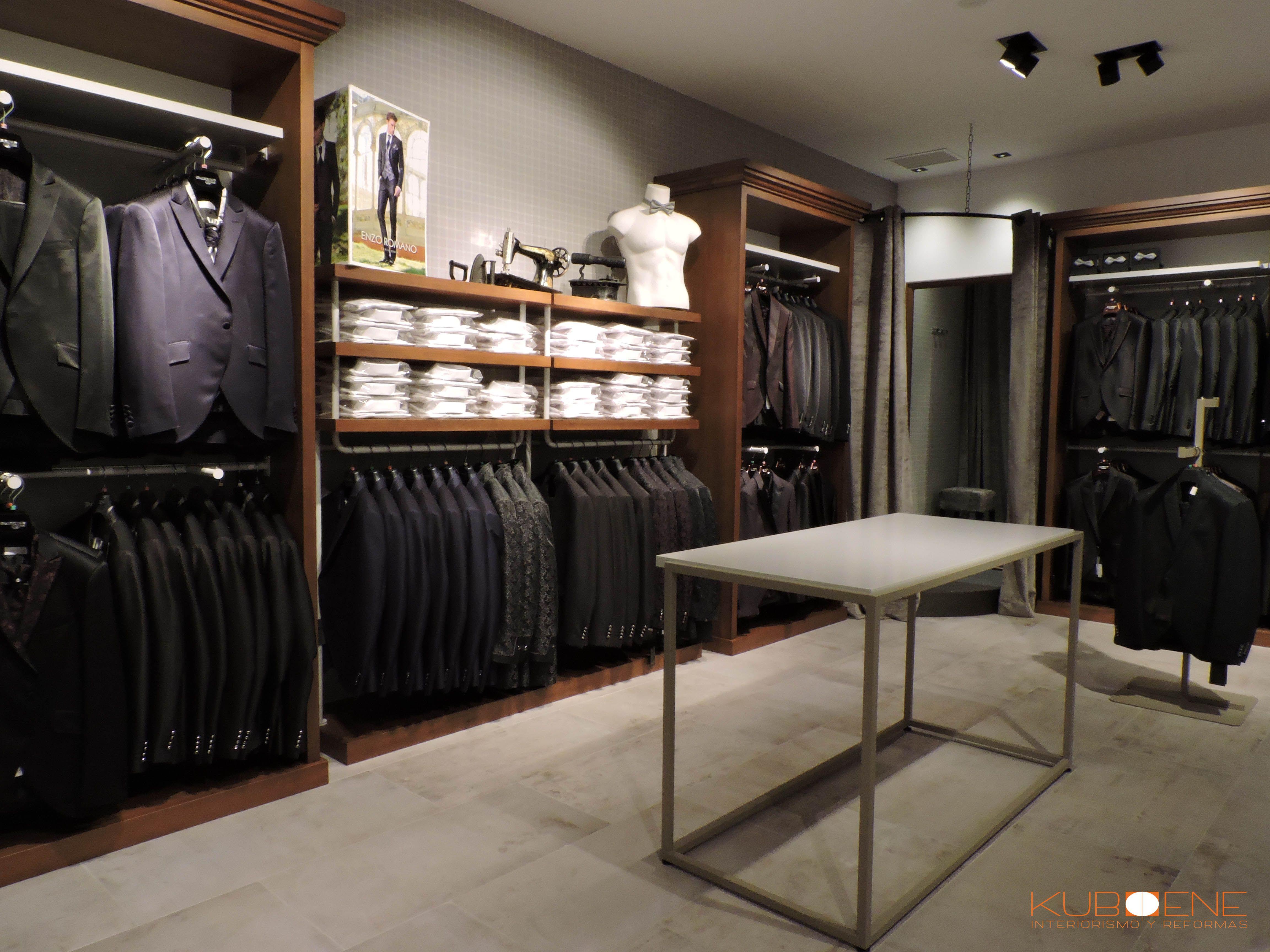 Tienda de ropa de hombre y sastrer a proyecto de for Disenos de tiendas de ropa modernas