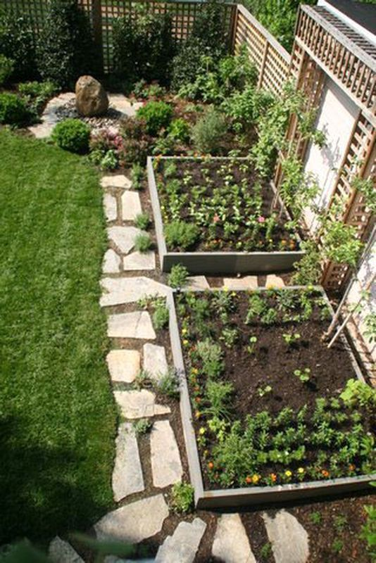 66 Creative Backyard Garden Design Ideas On A Budget
