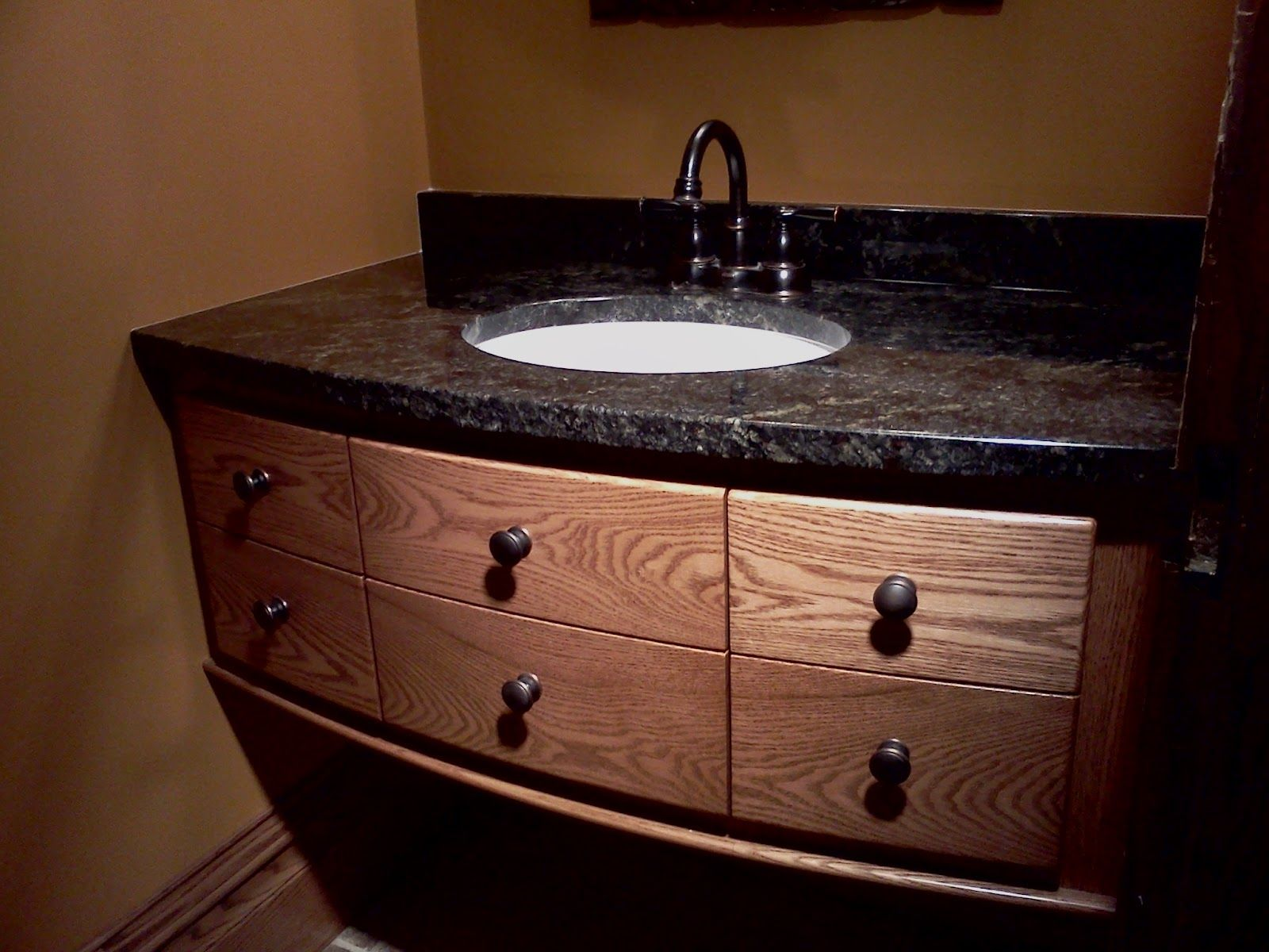 Photography Gallery Sites Excellent Black Granite With Six Drawers Teak Wood Materials At Bathroom Vanities With Tops Single White Washbasin And Cool Stainless Taps On Broken White