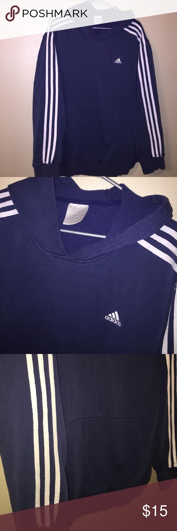 Vintage Adidas Hoodie Sweatshirt Navy Blue Men S L Adidas Hoodie Vintage Adidas Sweatshirts Hoodie [ 1740 x 580 Pixel ]
