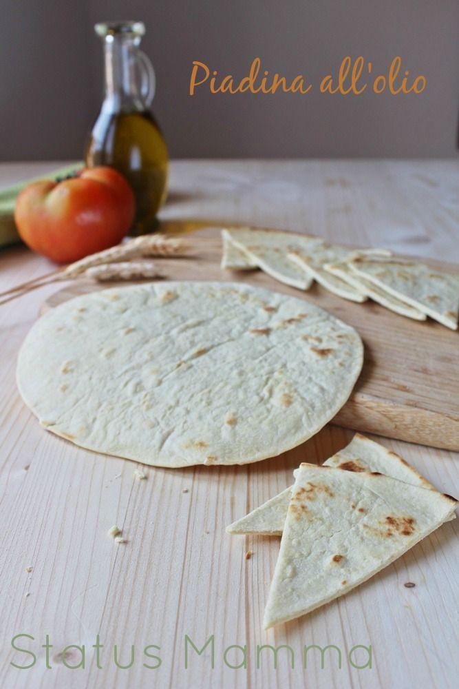 Ricetta Piadina Light Senza Lievito.Piadine Senza Lievito E Strutto All Olio Status Mamma Ricette Ricette Di Cucina Pasti Italiani