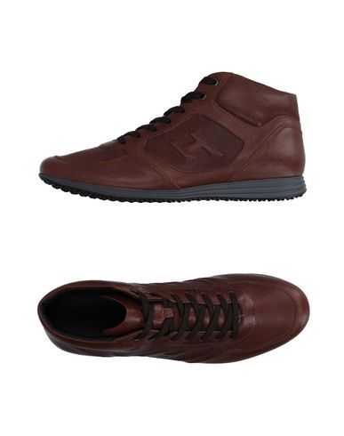 Sneakers for Men On Sale in Outlet, Navy Blue, suede, 2017, 5.5 Hogan