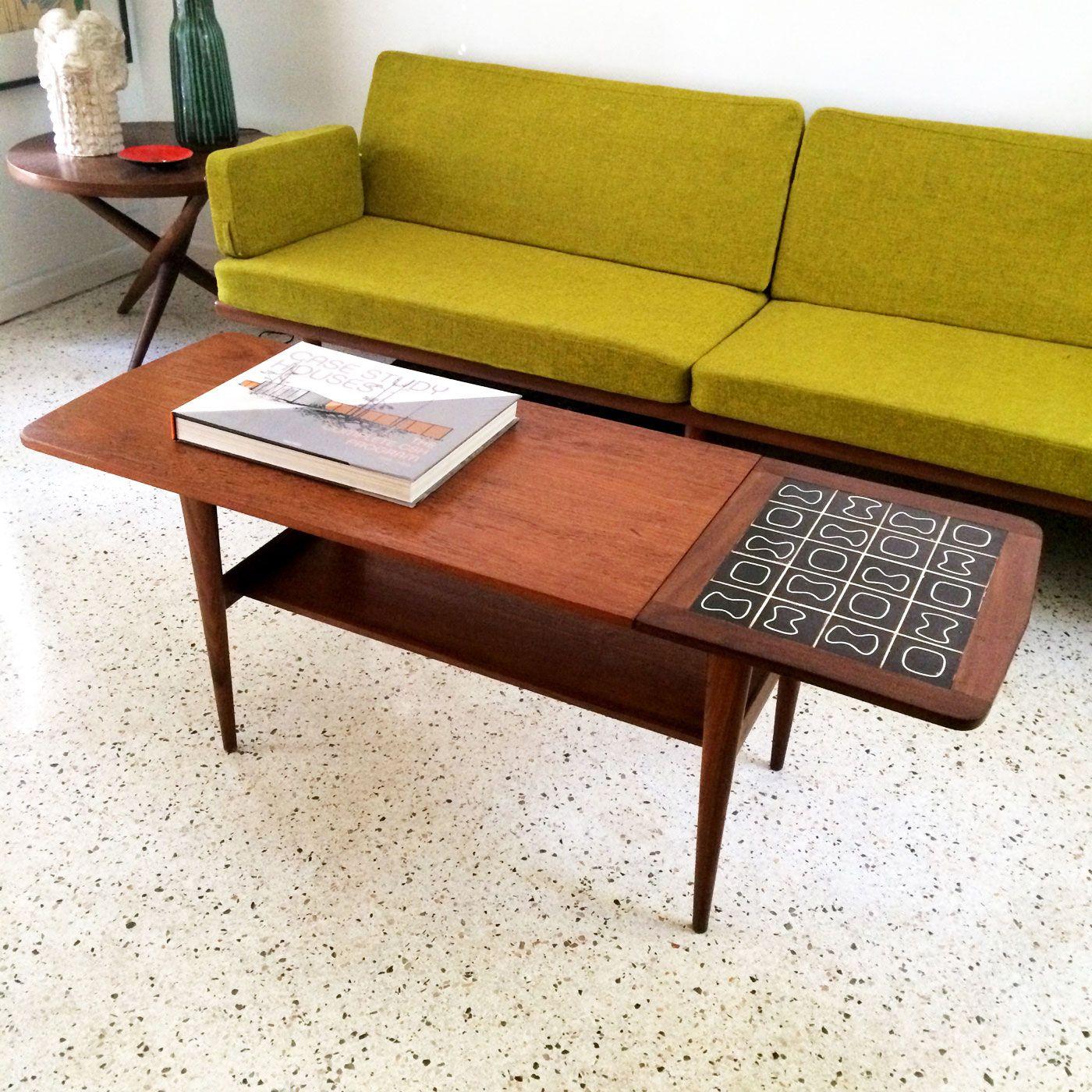 Vintage Tile Play Coffee Table dotandbo
