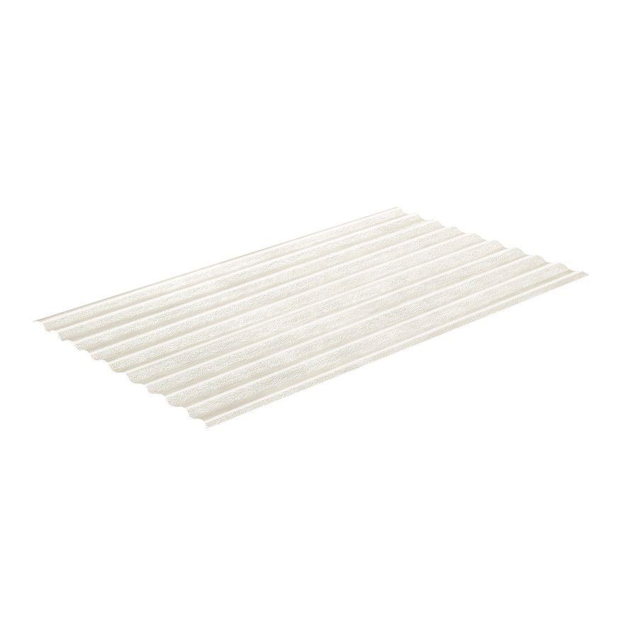 Sequentia 2 166 Ft X 8 Ft Corrugated Clear Fiberglass Roof Panel Lowes Com Fiberglass Roof Panels Fibreglass Roof Roof Panels