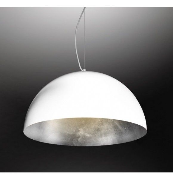 Pendant light oslo whitesilver about space lighting pendant light oslo whitesilver about space aloadofball Image collections