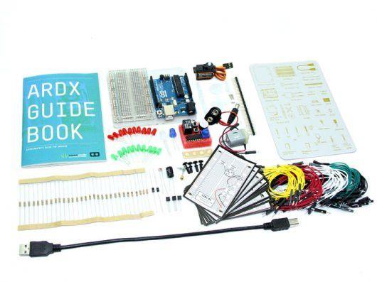 ARDX - The starter kit for Arduino