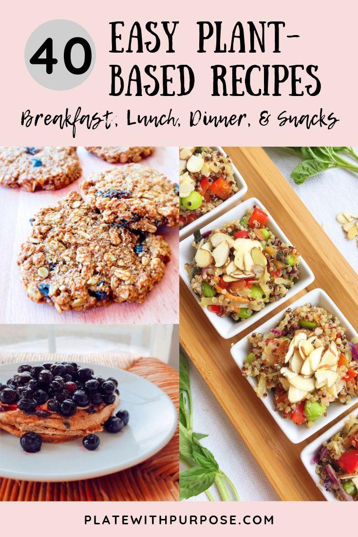 Zu lernen, wie man eine pflanzliche Ernährung beginnt, kann schwierig sein, deshalb habe ich einige …   – platewithpurpose.com