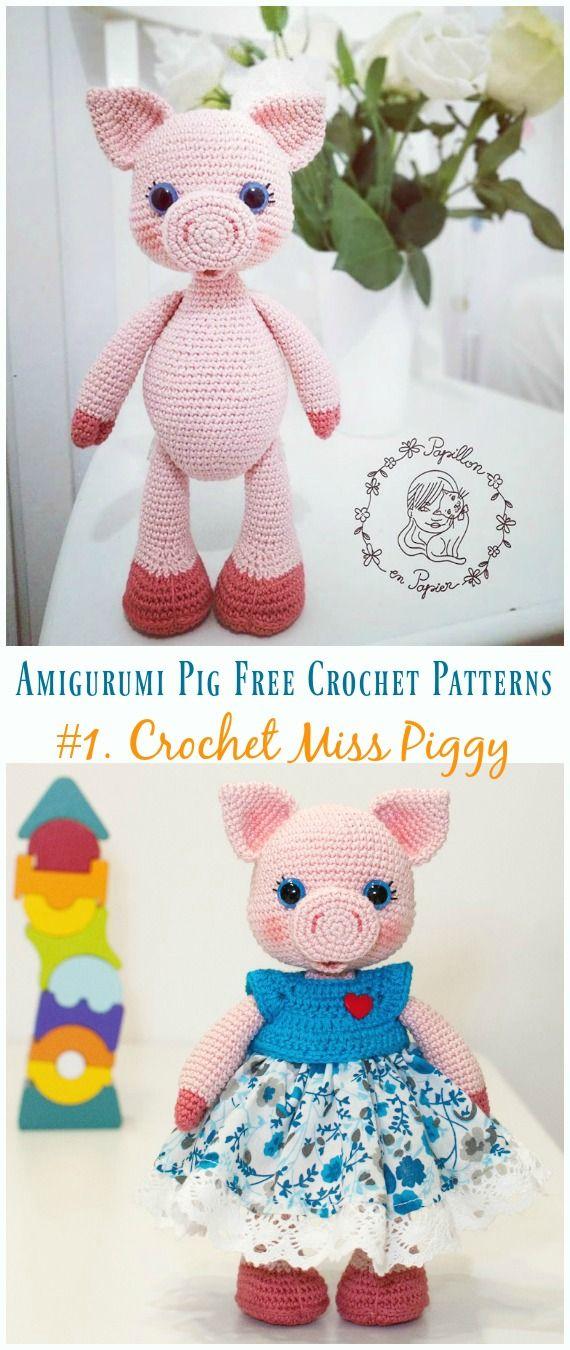 Sweet pig amigurumi pattern   Amiguroom Toys   1350x570