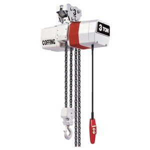 Elec Chain Hoist 3t 10fpm 460v By Coffing 7466 21 Electric Chain Hoist Variable Frequency Drive Capacity 3 Ton Li House Materials Bath Oils Pushbutton