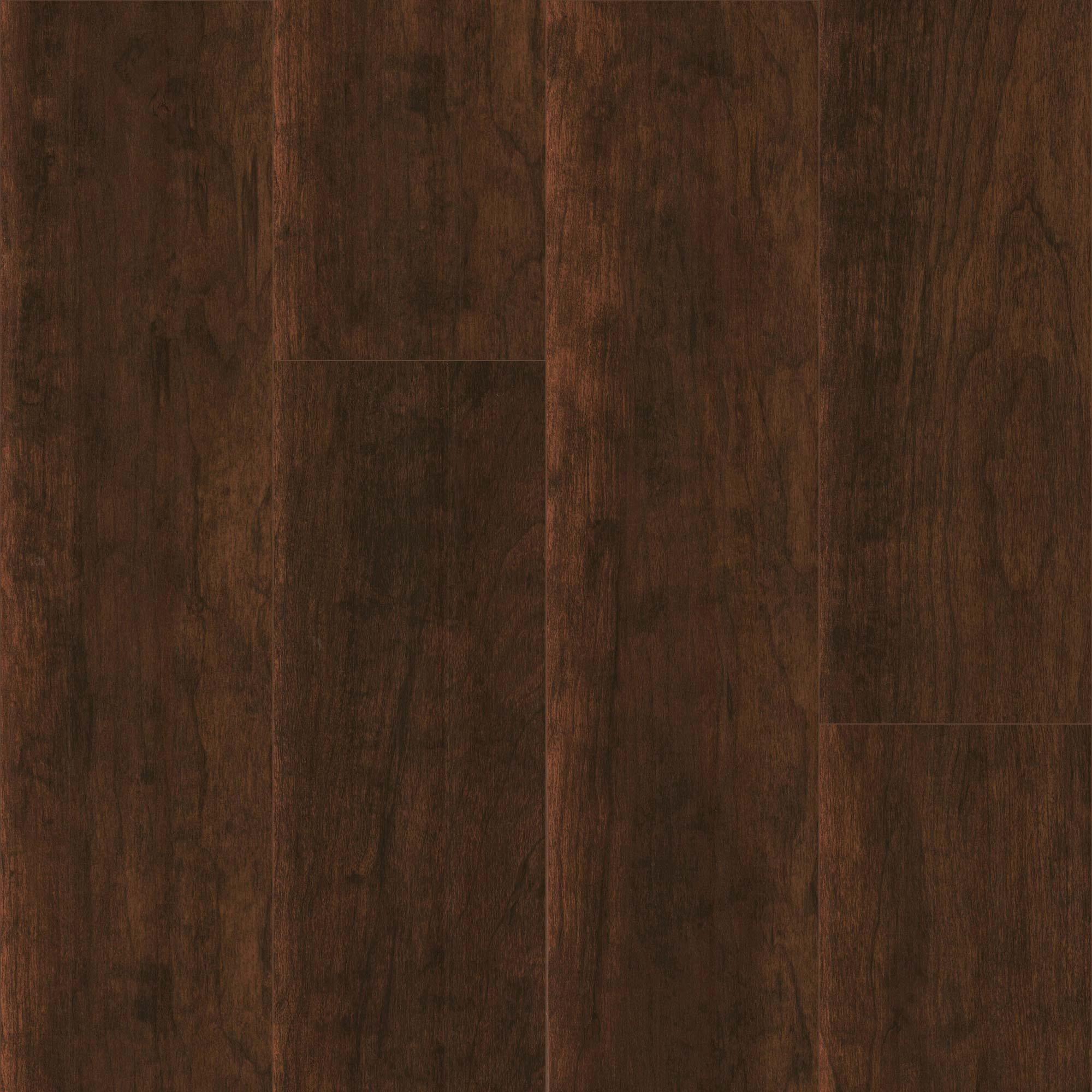Supreme Click Panama Cherry High Gloss 10 3mm Laminate Flooring With Attached Pad Laminate Flooring Laminate Flooring