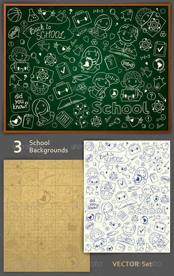 Realistic Graphic DOWNLOAD (.ai, .psd) :: http://sourcecodes.pro/pinterest-itmid-1005334329i.html ... School Backgrounds Set ...  background, bell, blackboard, book, design, diploma, education, globe, group, illustration, learning, preschool, school, science, subject, textbook, vector, wallpaper  ... Realistic Photo Graphic Print Obejct Business Web Elements Illustration Design Templates ... DOWNLOAD :: http://sourcecodes.pro/pinterest-itmid-1005334329i.html