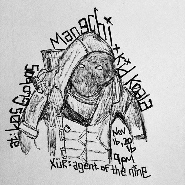 MANGCHI X KID KOALA sketch art by quangou