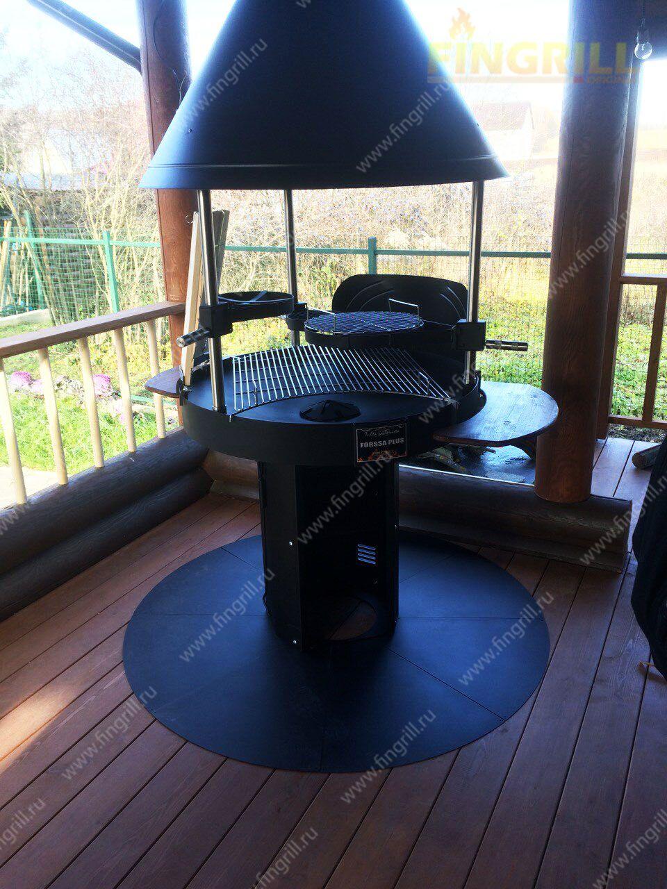 Гриль-барбекю на террасе электрические камины в липецке цены и фото