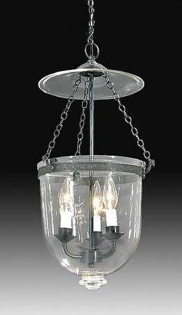 Clear Gl Dome Antique Br