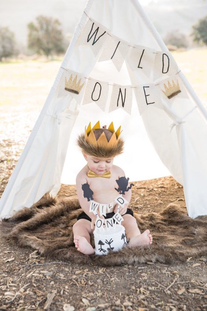 Where the Wild Things Are Birthday Party #babyboy1stbirthdayparty