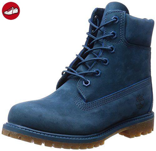 TIMBERLAND 6 Premium Schuhe Damen Boots Stiefel Blau A12ND, Größenauswahl:36 - Timberland schuhe (*Partner-Link)