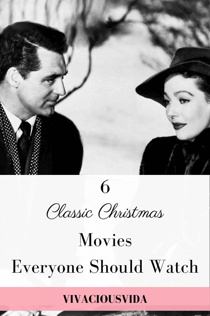 Get the whole family in the holiday spirit with these 6 classic Christmas movies. #christmasmovies #movies #classicmovies