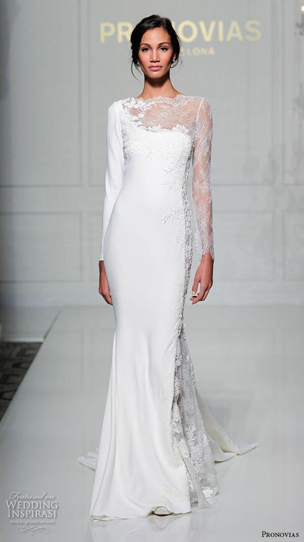 Pronovias 2016 Wedding Dresses New York Bridal Runway Show In