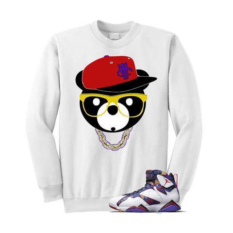 57ca0607452 ill Bear Nothin But Net 7s White T Shirt   Nothing but net   Shirts ...