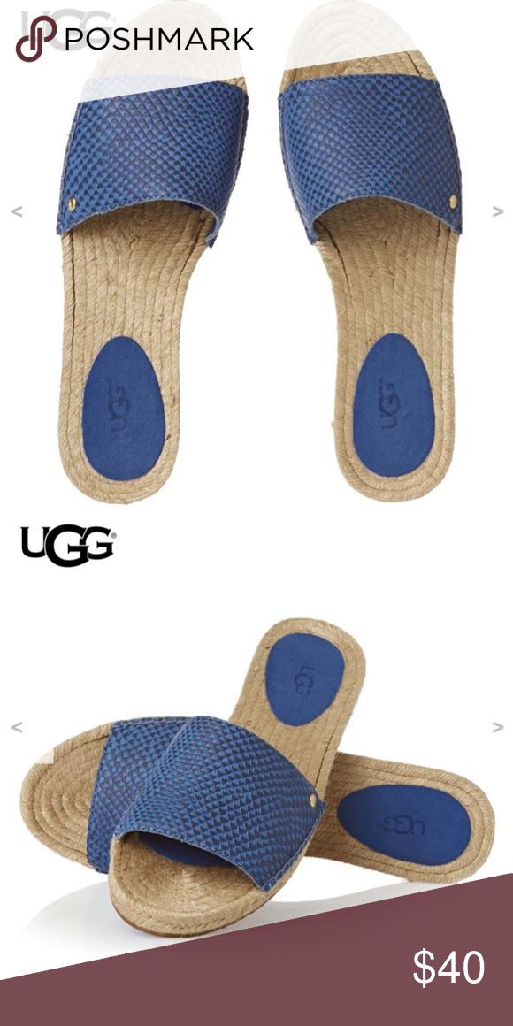 8e7f83d0467 Ugg cherry exotic slide sandal Size 7 women's .. brand new, never ...