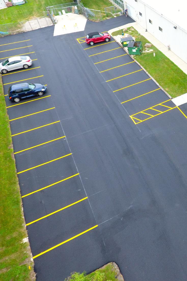 Rose Paving Pavement Marking Services Parking Design Parking Lot Striping Parking Lot