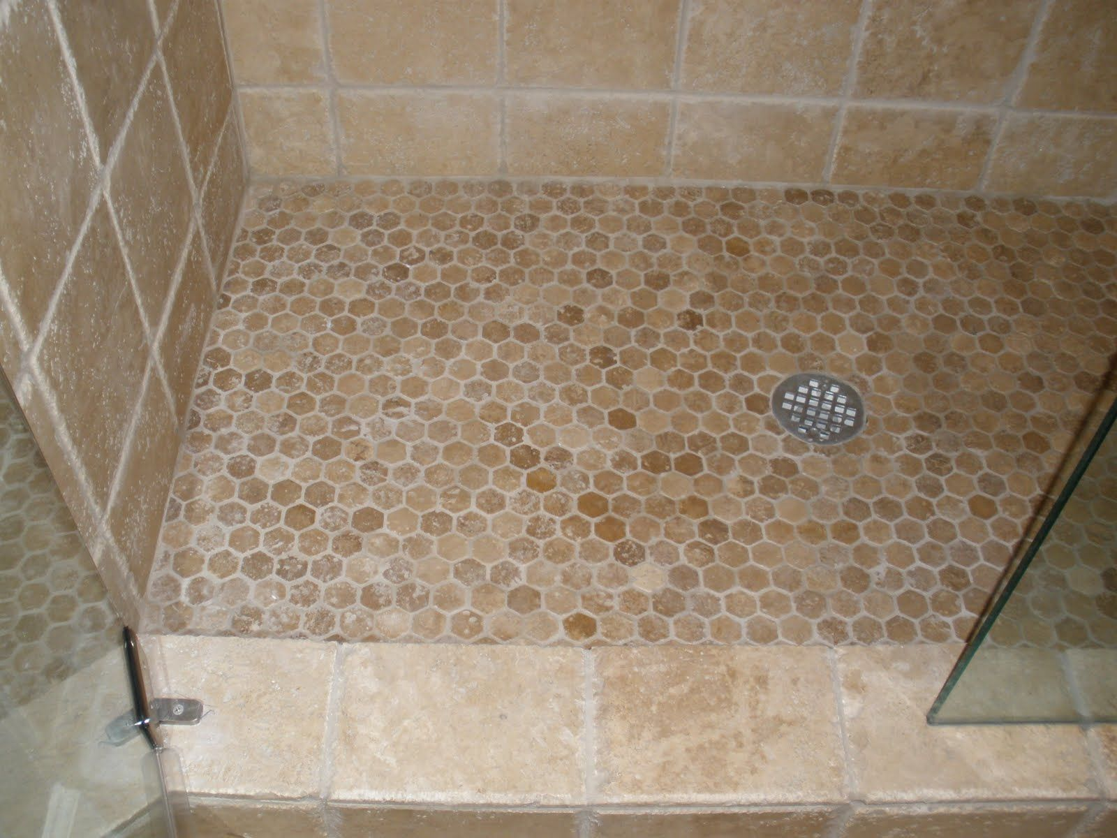 Floor Shower Floor Tile With Design In Bathroom And Best Tile
